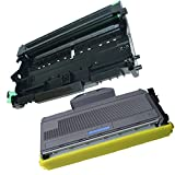 2PK-1 High Yield InkFirst® Toner Cartridge + 1 Drum Unit TN-360 DR-360 Compatible Remanufactured for Brother TN-360 DR-360 (1 toner + 1 drum) HL-2140 HL-2170W DCP-7030 DCP-7040 MFC-7340 MFC-7345N MFC-7440N MFC-7840W