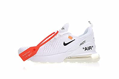 TOPMAXS Off White x Air Max 270 White Black Herren Damen ...