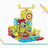 Bettal Building Blocks for Boys DIY Toy, 81Pcs Funny Bricks Gear Building Toy Set