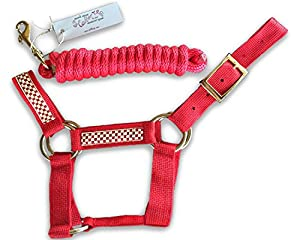Cute and Stylish Miniature Donkey Halters and Lead Ropes by HalterUp (2 item bundle) available in 10 colors
