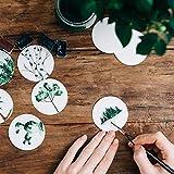 AIEX 9 Pieces Fine Detail Paint Brush Miniature