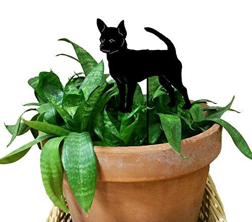 (Chihuahua Ornament or Plant Stake )