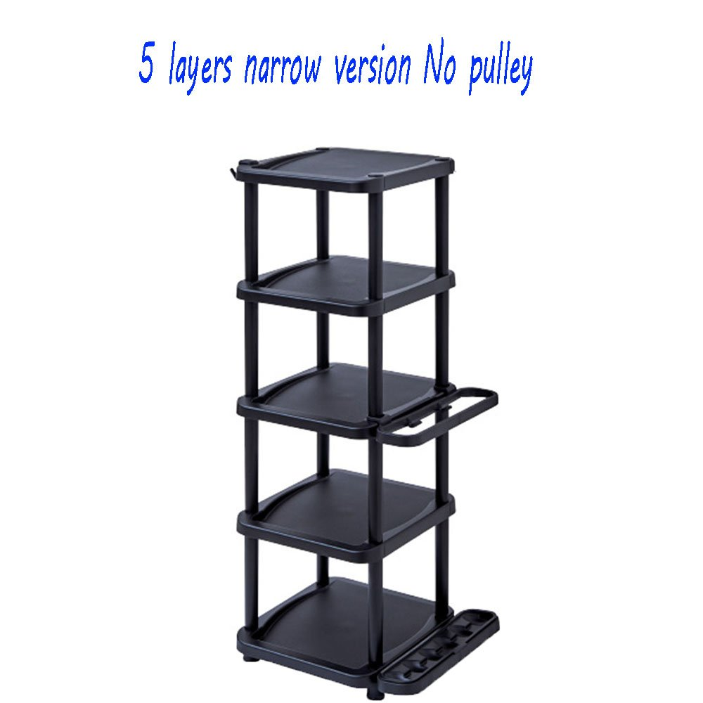 LiRuiPeng shoe rack GWDJ Shoe Rack Plastic Multi-layer Simple Economic Shoe Rack Comes With Umbrella Storage Rack (Size : 363185CM)