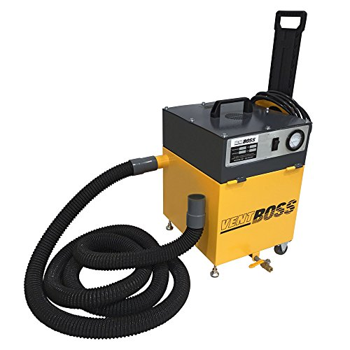 150 cfm VentBoss S130/G130 Portable Weld Fume Extractor w/ 2
