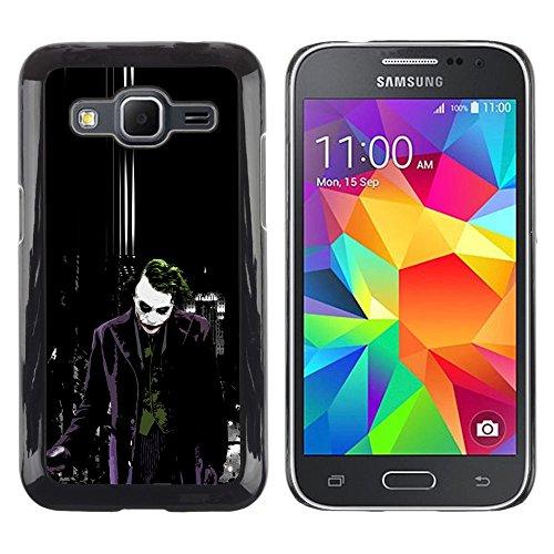 - Good Phone Accessory // Hard Case Protective Plastic Cover Case for Samsung Galaxy Core Prime // Joker Dark City Bat