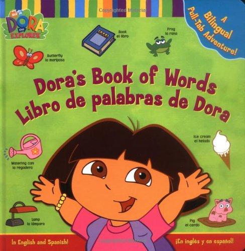 Download Dora's Book of Words / Libro de Palabras de Dora : A Bilingual Pull-Tab Adventure! pdf epub