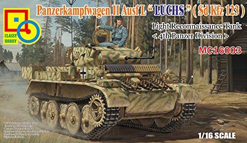 Reconnaissance Tank (Classy Hobby 1/16 Panzerkampfwagen II Ausf.L Luchs (Sdkfz.123) Light Reconnaissance Tank Model)
