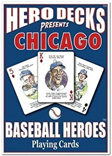 product image for CHANNEL CRAFT Hero Decks - Chicago Cubs - Playing Cards