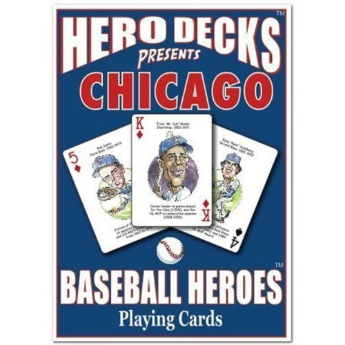 Hero Decks - Chicago Cubs - Playing (Hero Decks Playing Cards)