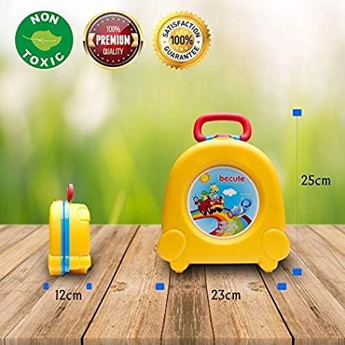 YUEFF Tragbares Reisetopf-Urinal F/ür Kinder Baby-T/öpfchen,T/öpfchen-Training Toiletten-Sitz F/ür Kinder,Kinder-WC Baby Kleine Toilette Kind T/öpfchen Urinal