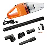 mini vac hand pump - Car Vacuum Cleaner,ForPeak DC 12-Volt 120W Mini Portable Handheld Auto Vacuums,Lightweight Dustbuster Hand Vac,16.4FT(5M) Power Cord with 2 HEPA Filters