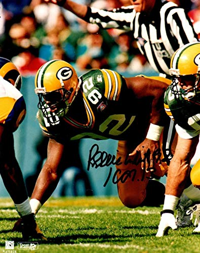 (Beckett-Bas Reggie White Green Bay Packers Autographed Signed-Autographed Signed 8x10 Photo A04493 - Certified Signature)