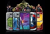 Original MARVEL series samsung note4 Avengers cases back cover for Samsung Galaxy Note 4 set of 4