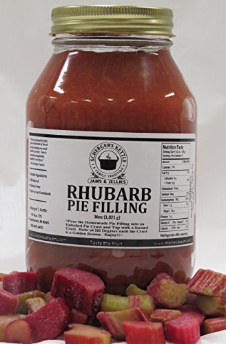 Rhubarb Pie Filling, 36 oz