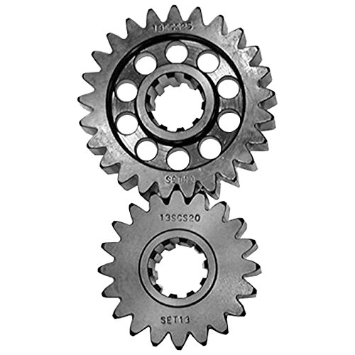 SCS Gear Box Professional Series Gear Set 24 10 Spline Quick Change Gear