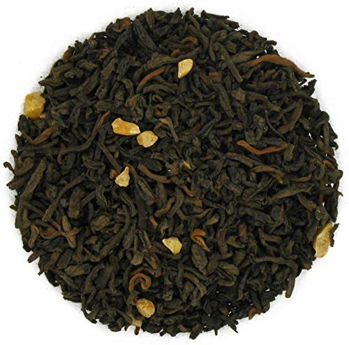 - English Tea Store Loose Leaf, Scottish Caramel Toffee Pu-Erh Tea, 4 Ounce