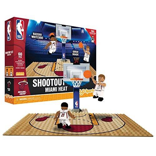 - OYO NBA Miami Heat Display Blocks Shootout Set, Small, No Color