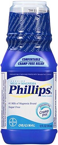 Phillips Milk Of Magnesia Laxative Original 12 Fluid