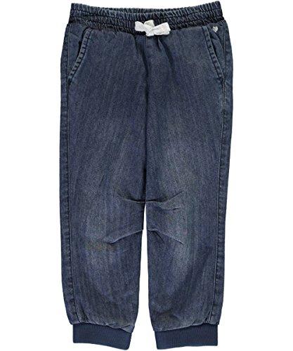 Carter's Girls' 2T-8 Fleece Lined Joggers Denim (Girls Fleece Lined Jeans)