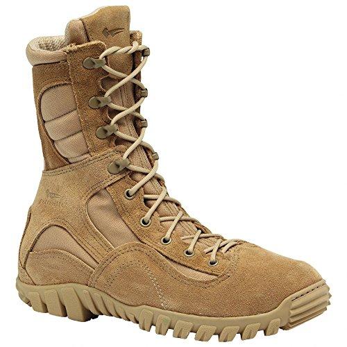 Hot Weather Womens Boots (Belleville 333 Sabre Desert Tan Hot Weather Hybrid Assault Boot, 12W)