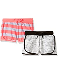 Limited Too Little Girls' 2 Pack Dolphin Shorts
