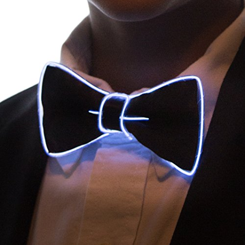 Neon Nightlife Light Up Bow Tie for Kids,