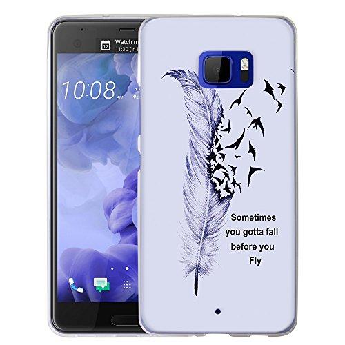 HTC U Ultra Case, Harryshell Flexible Lightweight...