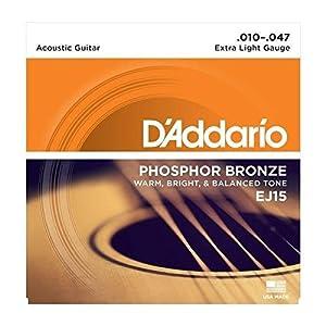 D'Addario EJ15 Phosphor Bronze Acoustic Guitar Strings from D'Addario
