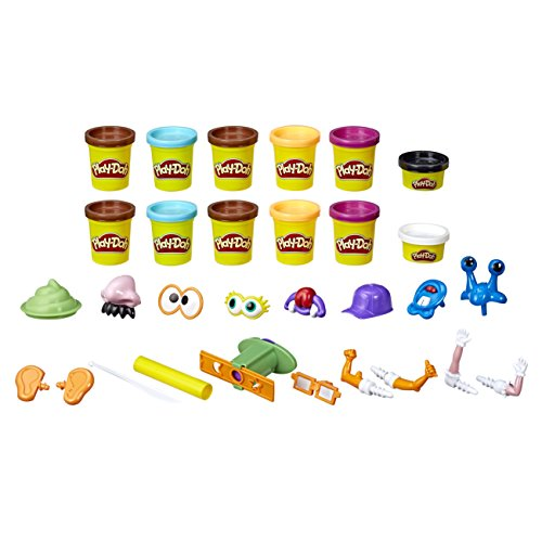 Play-Doh Poop Troop, Set de 12 latas (Hasbro E5810EU40)