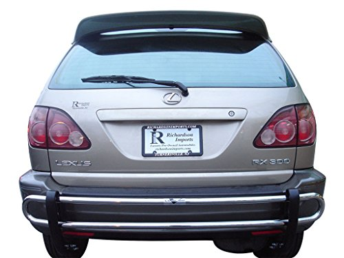 VanGuard Off Road VANGUARD VGRBG-0145SS 2004-2009 Lexus RX330 RX350 Rear Bumper Guard Double Tube S/S