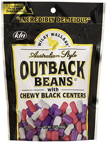 10 Ct Feed (Wiley Wallaby Outback Beans - Black, 10 ounce Bag (10 Pack))