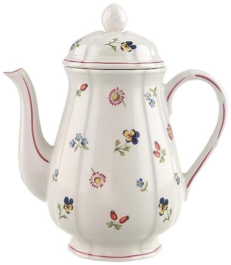 Villeroy & Boch Petite Fleur Cafetera, 1,25 l, Porcelana Premium ...