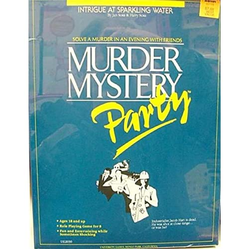 Murder Mystery Party: Intrigue At Sparkling Water