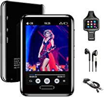 """MP3 Player, 16GB MP3 Player with Bluetooth 5.0, Music Player with FM Radio, Recording, 2.8"""" Screen, Support up to 128GB..."""
