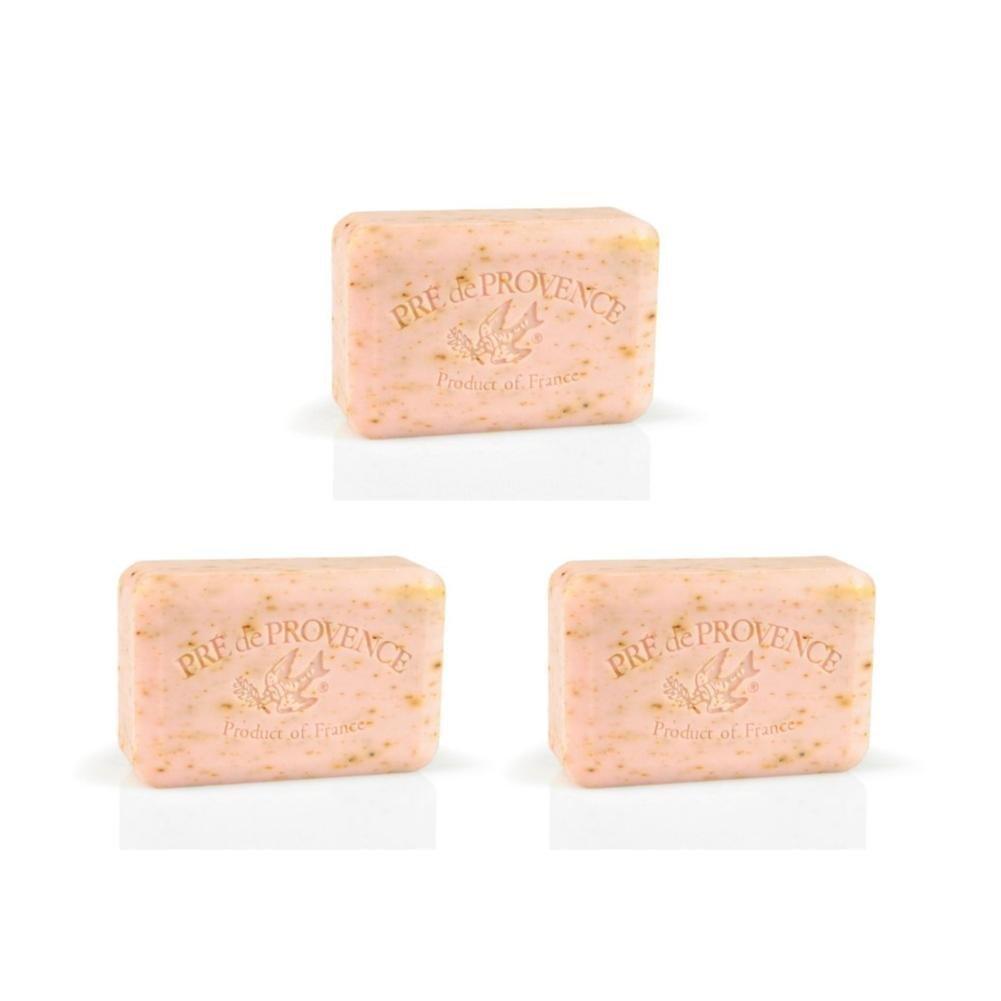 Pre De Provence Rose Petal Bar Soap 250g 3 Pack