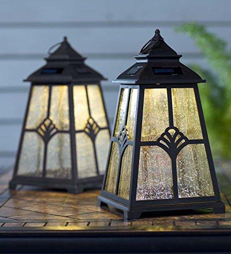 Solar Lotus Lantern Outdoor LED Light