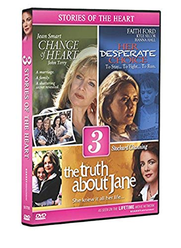 Lifetime Movies-Triple Feature (A Change of Heart, The Truth About Jane, Her Desperate Choice) (Lifetime Dvd Movies)