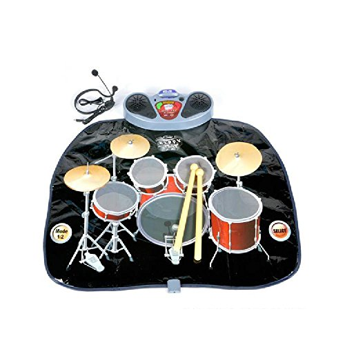 Electronic Drum Set Play Mat by Bargain World