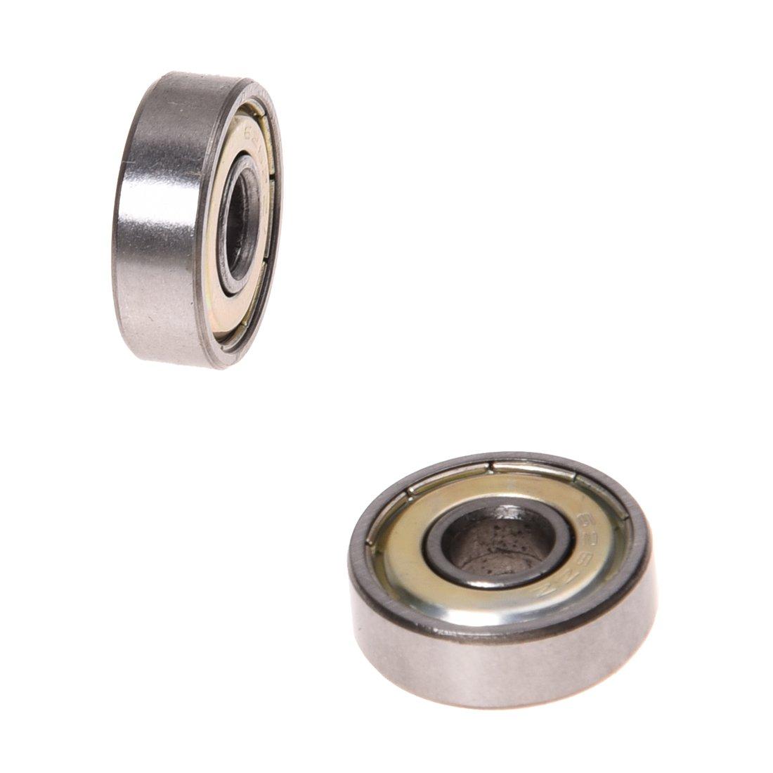 Semoic 10x Rodamiento de bola Bola de ranura profunda 626-ZZ 6mm Calidad superior de industria