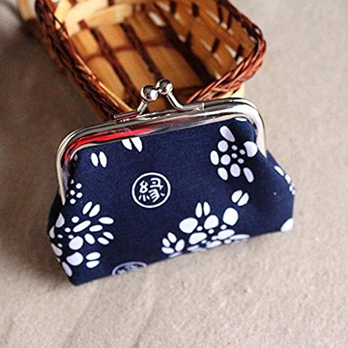 Bag Noopvan Coin Clutch Wallet Clearance fossil 2018 wallet A Lady Vintage Retro Purse Hasp Mini Wallet 7U7gqr