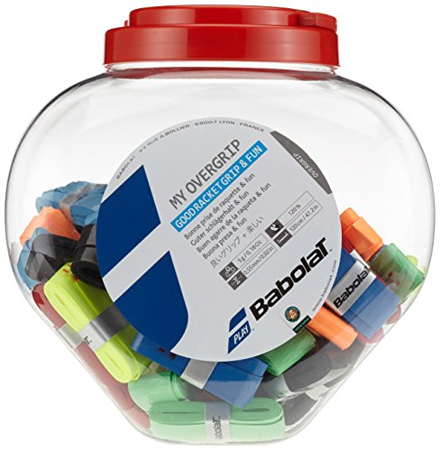 BABOLAT B656006 My Grip Jar Tennis Overgrip 70 Count – DiZiSports Store