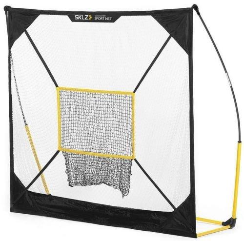 SKLZ Quickster Net Multi Sport Portable Football Soccer Baseball Practice 5 x 5 by SKLZ