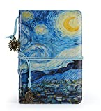 #9: Faux Leather Writing Journal Vintage Diary for Women,Daily Use Personal Organizer,Classic Notepad to Write in with Lined Paper/Pen Holder/3 Dividers/Pendants,Creative Gift Idea
