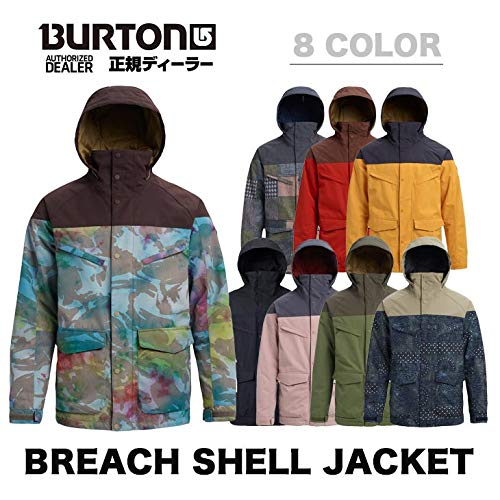 Burton(バートン) BREACH SHELL JACKET 18948101403 PATCHWORK/DENIM M