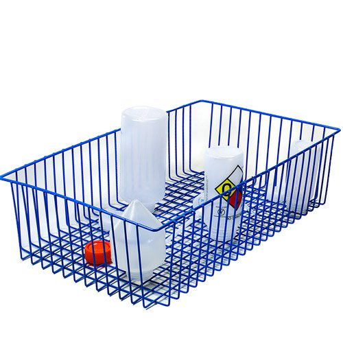 24-3/4'' L x 14'' W x 6'' H Poxygrid Steel Wire Carrying Basket by Product Conect