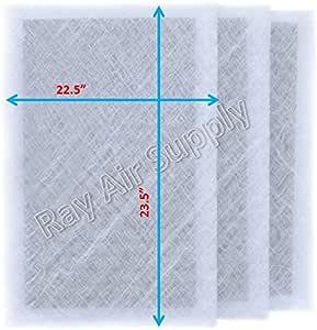 RAYAIR SUPPLY 24 x 26 Pristine Air Cleaner Repuesto de filtros de ...