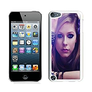 iPod Touch 5 Case ,Unique And Fashionable Designed Case With Lovely Avril Lavigne White For iPod Touch 5 Phone Case