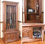 gun cabinet plans - #4 - Gun Trophy Case Building Plans & Instructions Only
