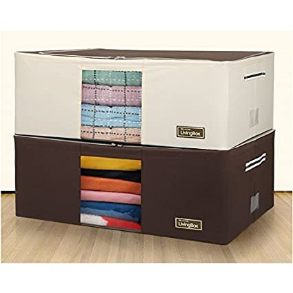 Amazoncom CD Living Box with WIRE Clothes Storage Beddings