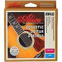 Alice Steel Acoustic Guitar Strings - 11-52